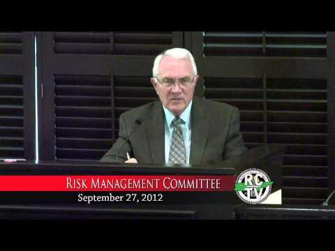Risk Management Committee - September 27, 2012