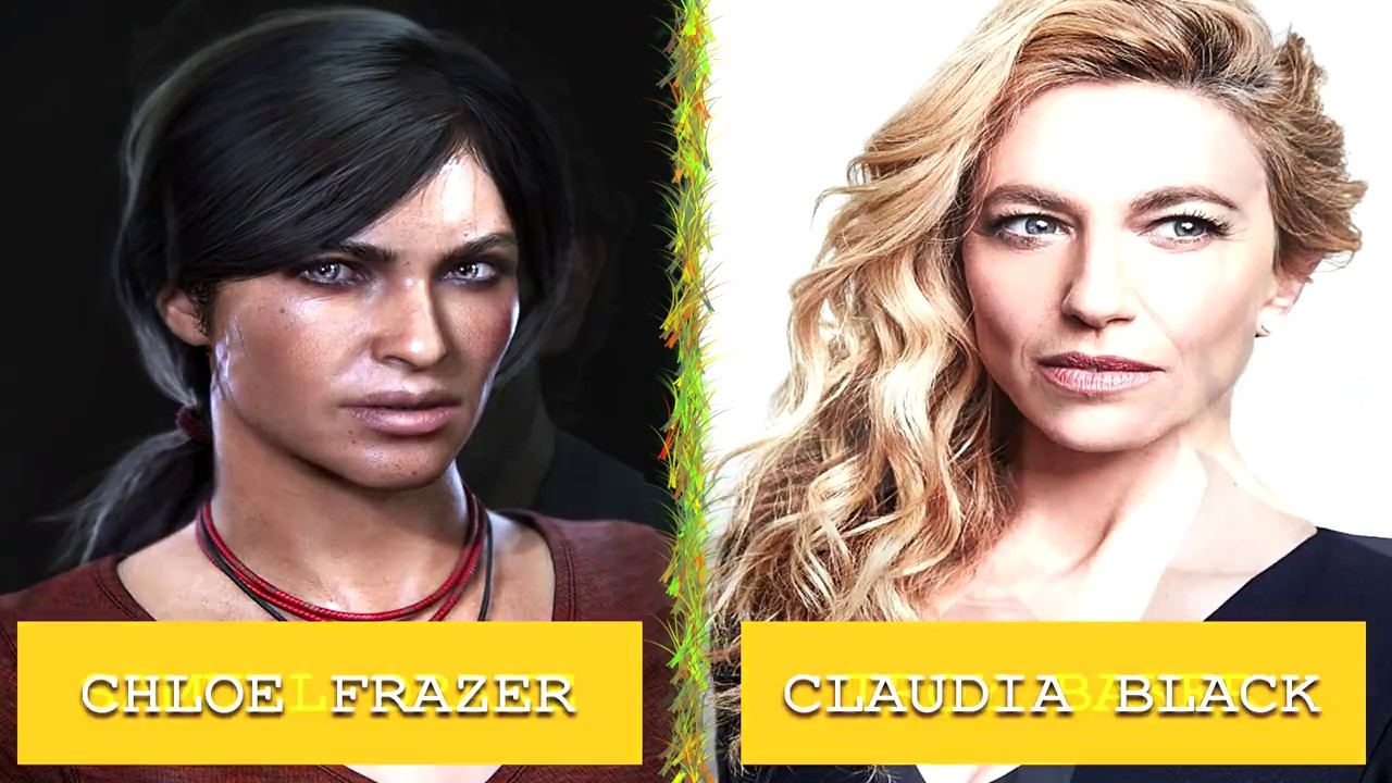 Uncharted The Lost Legacy Voice Actors 1080p Hd No Spoil Youtube
