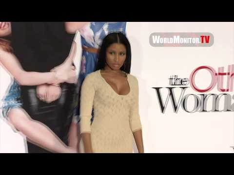 Nicki Minaj shakes her big booty arriving at 'The Other Woman' Los Angeles premiere Redcarpet