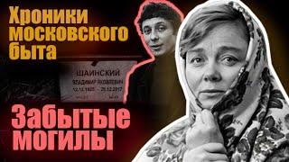 Забытые могилы. Хроники московского быта