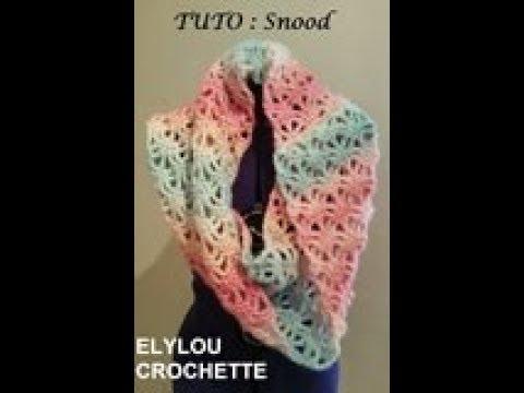 TUTO crochet   Snood