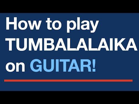 tumbalalaika free easy guitar tablature sheet music youtube. Black Bedroom Furniture Sets. Home Design Ideas