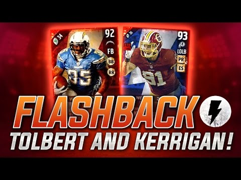 NEW FLASHBACK RYAN KERRIGAN and MIKE TOLBERT in Madden 17 Ultimate Team! MUT 17 Flashback Review!