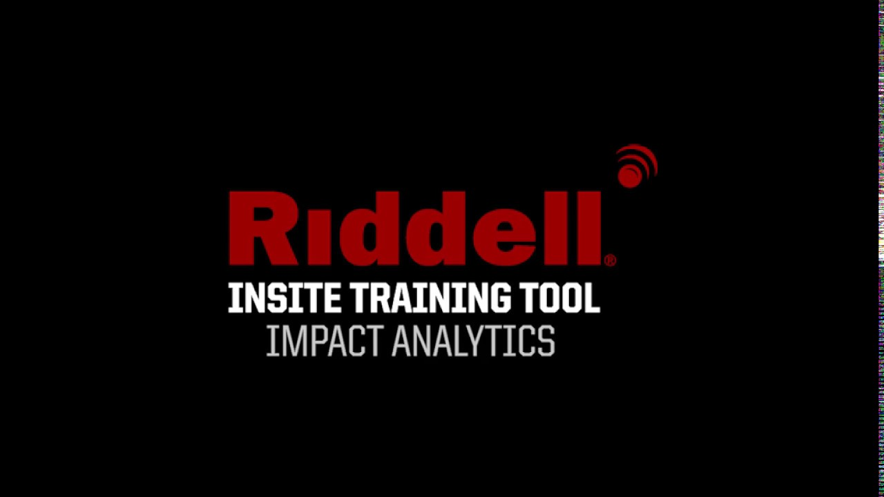 14ab37123f5 Riddell InSite Training Tool  Impact Analytics - YouTube