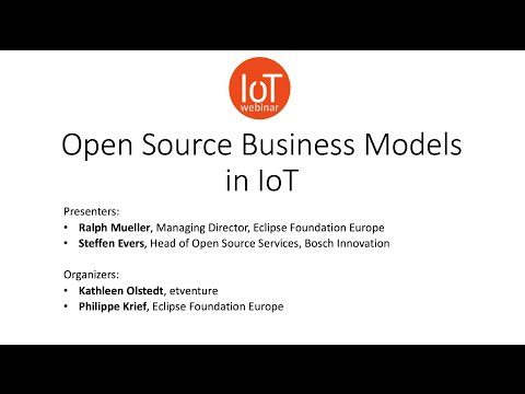 Open Source Business Models in IoT