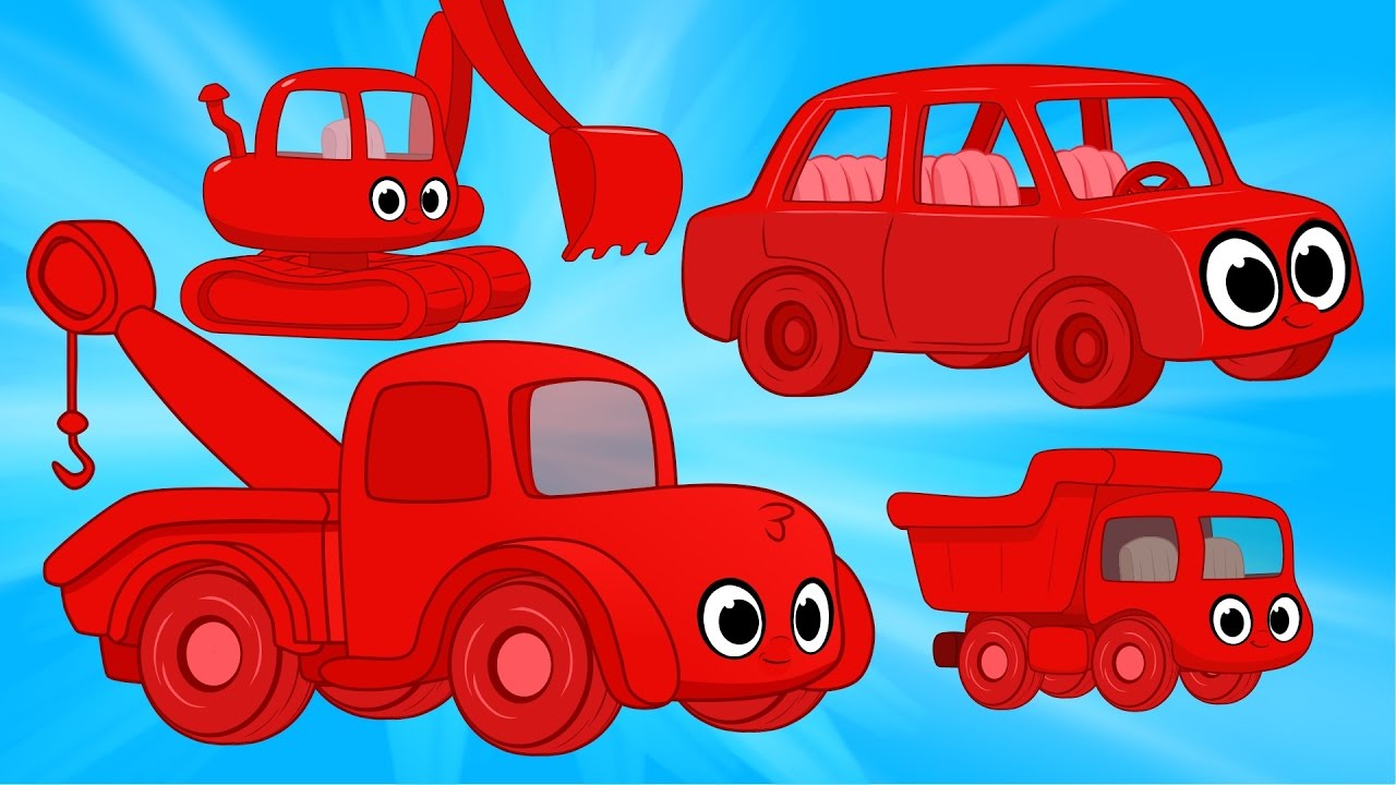 Morphle Vehicle Super Compilation - cars trucks and other excavators for kids
