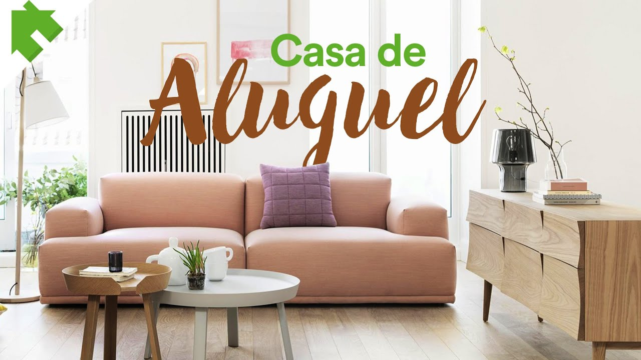 Dicas para decorar casa de aluguel youtube for Decorar casas