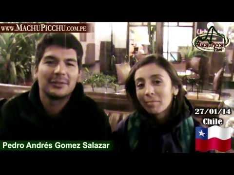Chileno - Pedro Andrés Gomez Conoció a Machu Picchu con MachuPicchu Travel