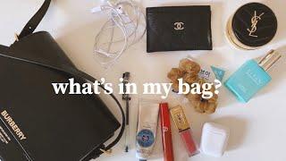 what's in my bag? 왓츠인마이백버버…
