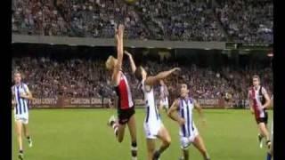 St Kilda Nick Riewoldt Highlights vs North Melbourne 2010