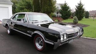 1966 Oldsmobile 442 Hard Top For Sale~Air Conditioning~Pwr Windows, Steering & Brakes