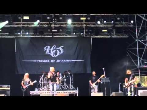 House of Shakira - In Your Head (Live at Väsby Rock 2014)