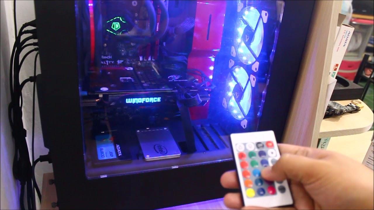 Alseye 120mm Desktop Chassis Fan Rgb Led Youtube Case 12 Cm Sooncool