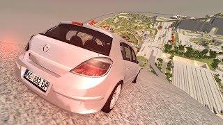 FREIO ABS DO VECTRA GT NÃO AGUENTOU! BeamNG.drive