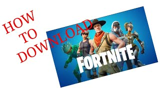 How to download Fortnite battle royal without verification on android