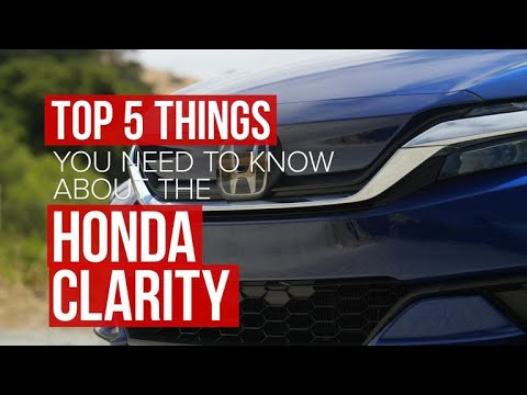 Five things you should know about the Honda Clarity Electric