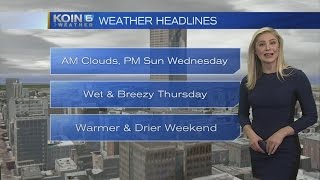 11pm Tuesday Evening Forecast KOIN 6 News June 13, 2017