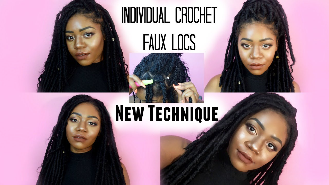 Individual Crochet Faux Locs Tutorial Jazznicolemethod