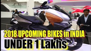 Top 10 Upcoming bikes in 2018 - 2019 in India under 1 Lakhs | Latest 2018 SuperBikes - Biker Aman