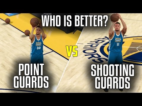 CAN A TEAM OF SHOOTING GUARDS BEAT A TEAM OF POINT GUARDS? NBA 2K17!