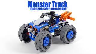 Tutorial for Monster Truck - LEGO Technic 42071 Alternate MOC