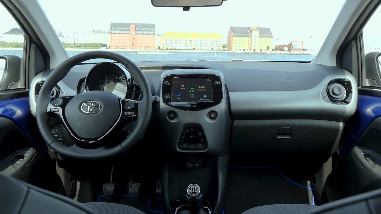 2019 Toyota Aygo - Interior - YouTube