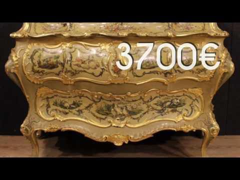 Venetian dresser of the mid-twentieth century. Antiques and decorative shop online
