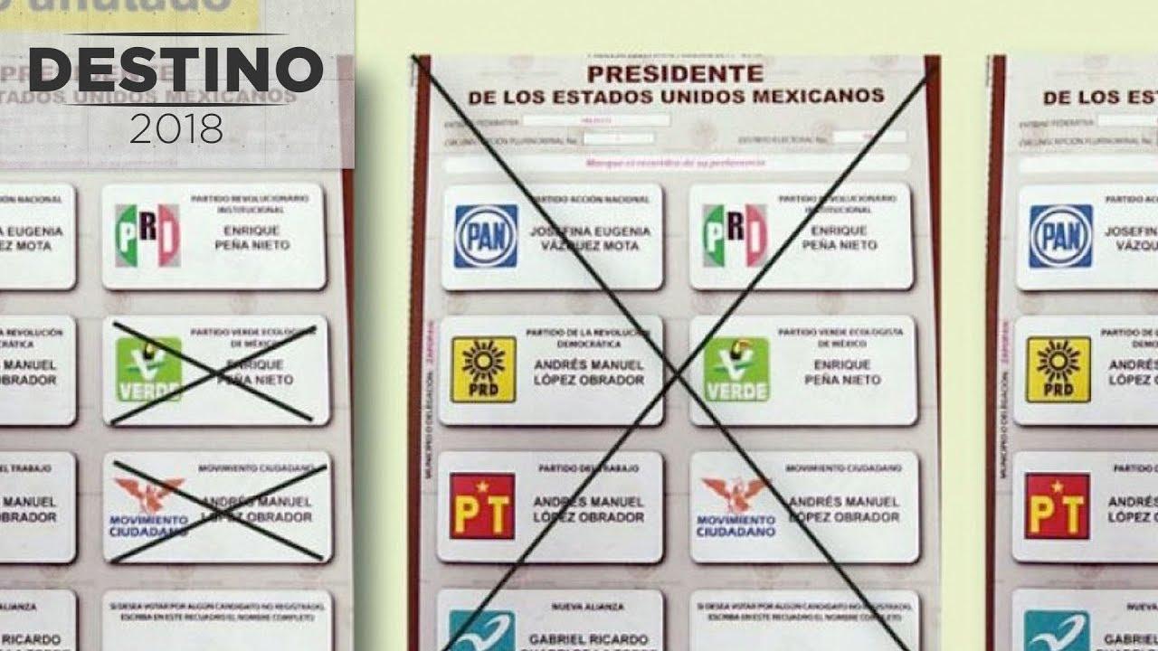 Cómo debes de votar para no anular tu voto