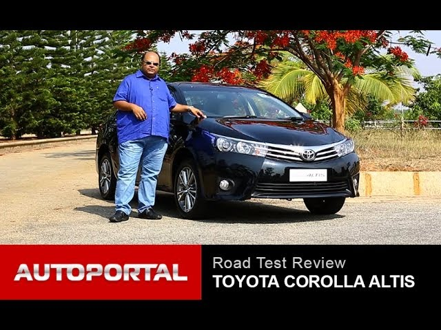 Toyota Corolla Altis 2014 Review