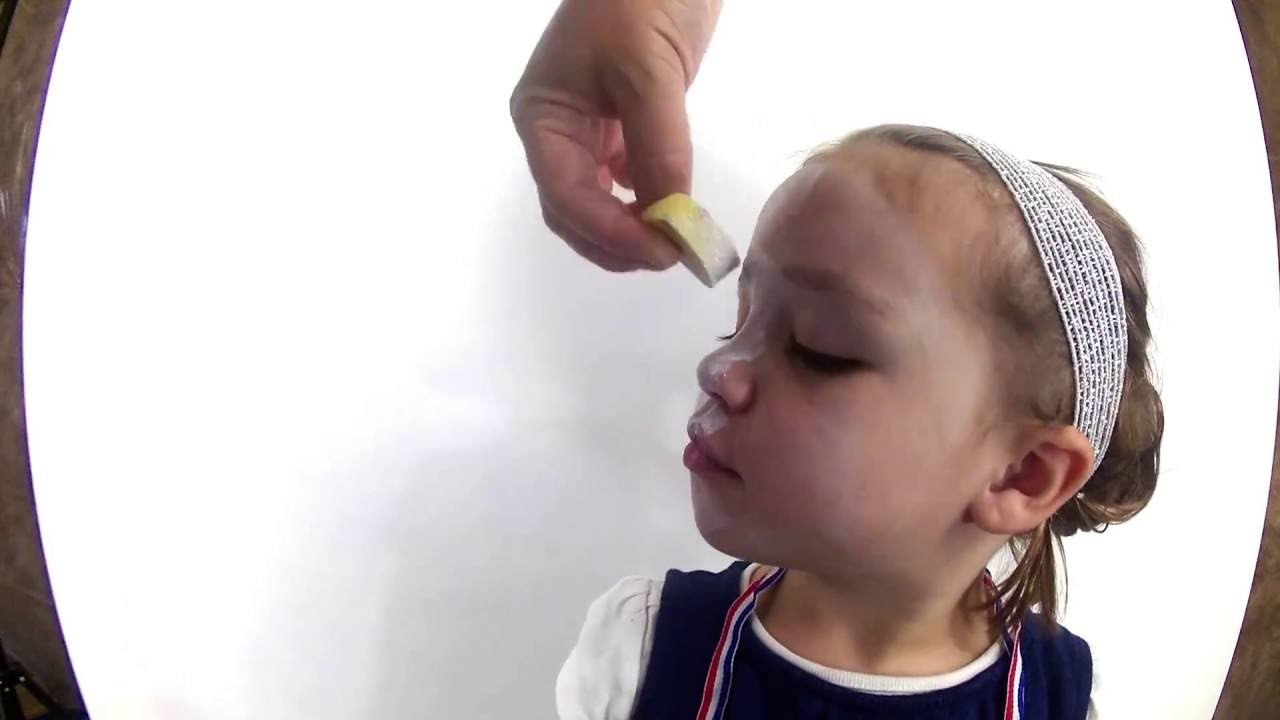 SUPER CUTE 2 yr old face paint- Simple Cow Face Paint for Chick Fil le Cow  Appreciation Day