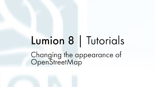 Build Mode: OSM - Changing the appearance of OpenStreetMap