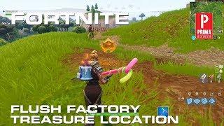 Fortnite Season 5 Week 3 - Flush Factory Treasure Map Challenge