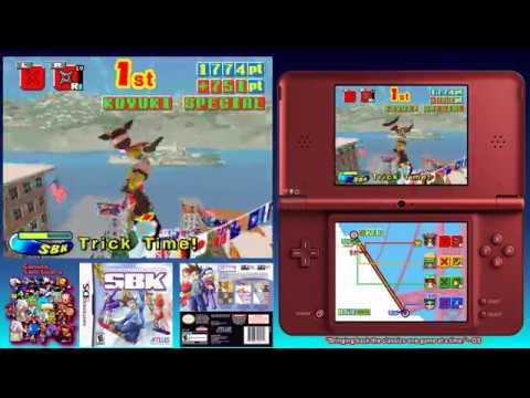 SBK: Snowboard Kids Game Sample - DS