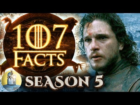 107 Game of Thrones Season 5 Facts YOU Should Know (@Cinematica)