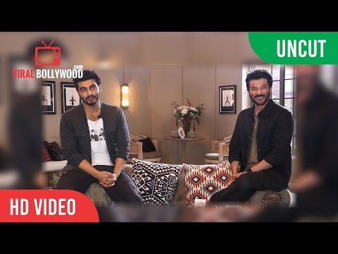 UNCUT - Anil Kapoor And Arjun kapoor On The Sets Of Colors New Show Vogue BFFs
