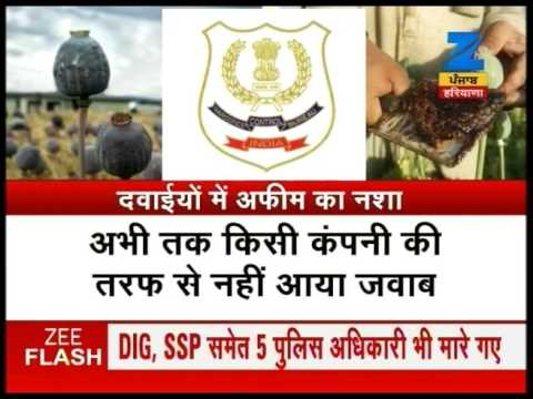 NCB reports supply of opium and other drugs in name of Ayurvedic medicines in Punjab