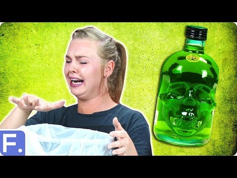 Thumbnail: People Try Absinthe For The First TIme