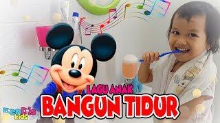 Bangun Tidur -  Bernyanyi bersama Mickey Mouse Bergoyang Lucu - Lagu Anak Indonesia