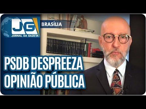 Josias de Souza/PSDB despreza a opinião pública