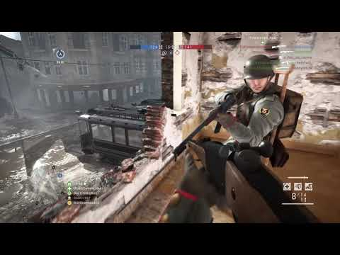 Battlefield™ 1 New sniper/scout game 18-11 with Model Lebel 1886 infanterie on Amiens