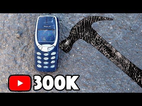 Bored Smashing - NOKIA 3310! 300K SPECIAL