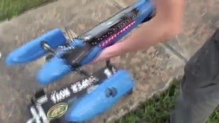 R/C Airboat - Supernova - 59mph but had throttle issues