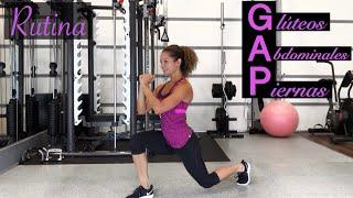 De casa y en piernas rutina para gluteos abdomen ejercicios