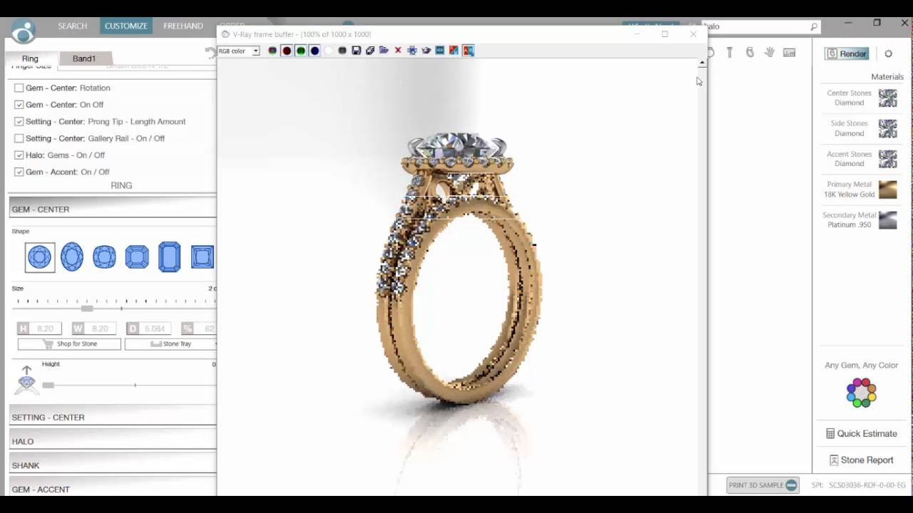 Designing Engagement rings with Michael Arthur Diamonds YouTube