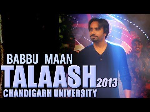 Babbu Maan - Talaash | 2013 | Chandigarh University
