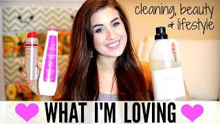 CURRENT FAVORITES | CLEANING, LIFESTYLE & BEAUTY | JULY & AUGUST FAVORITES 2017