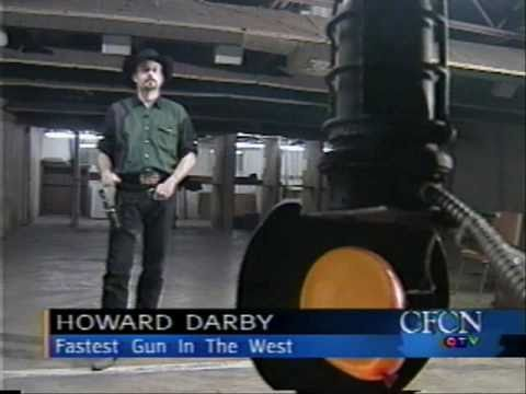 Trick Shooting Gun Spinning Fast Draw Howard Darby