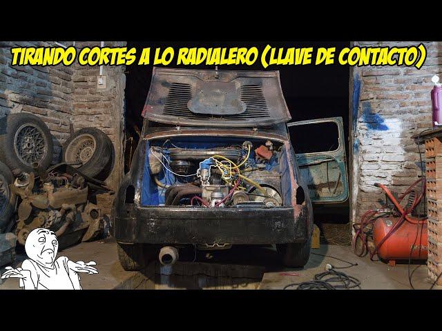 Instalamos CARBURADOR al Fiat 600 - (Tirando cortes y Saliendo a Pistas) - Radialero Team