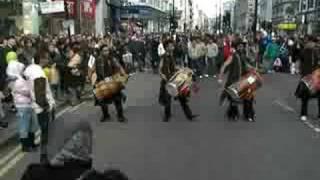 punjabi dhol: Oxford street festival