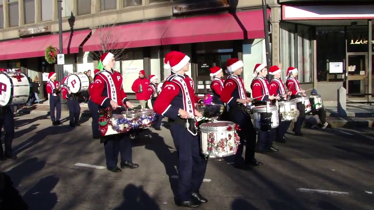 parade taunton Massachusetts christmas ma 2016 - YouTube